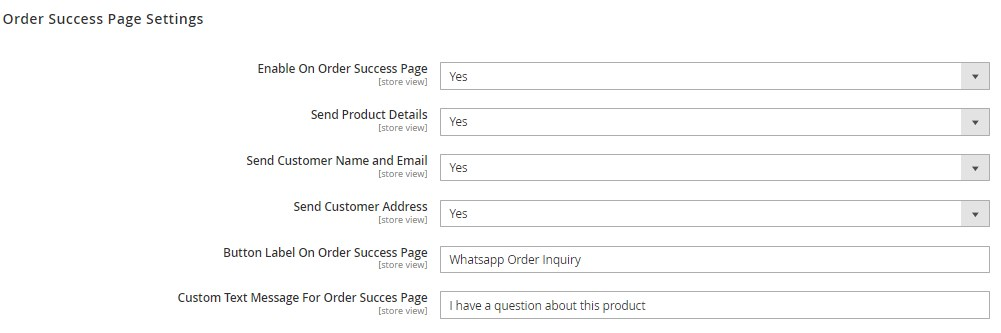 Amasty Magento 2 WhatsApp chat share quote module