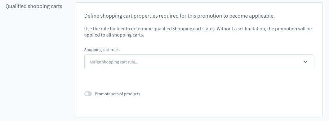 Shopware 6 promotions and discounts