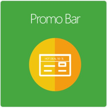 magento 2 promo bar extension