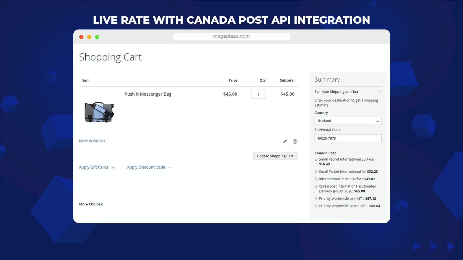 Magento 2 Canada Post Extension