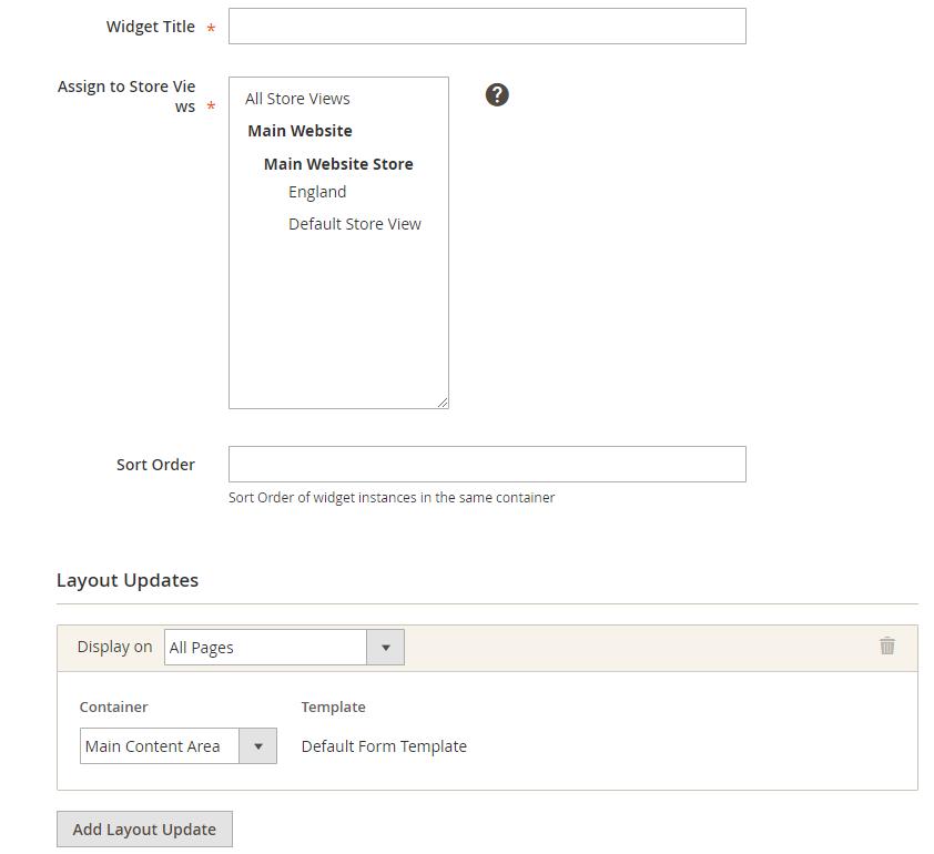 magento 2 Custom Form extension