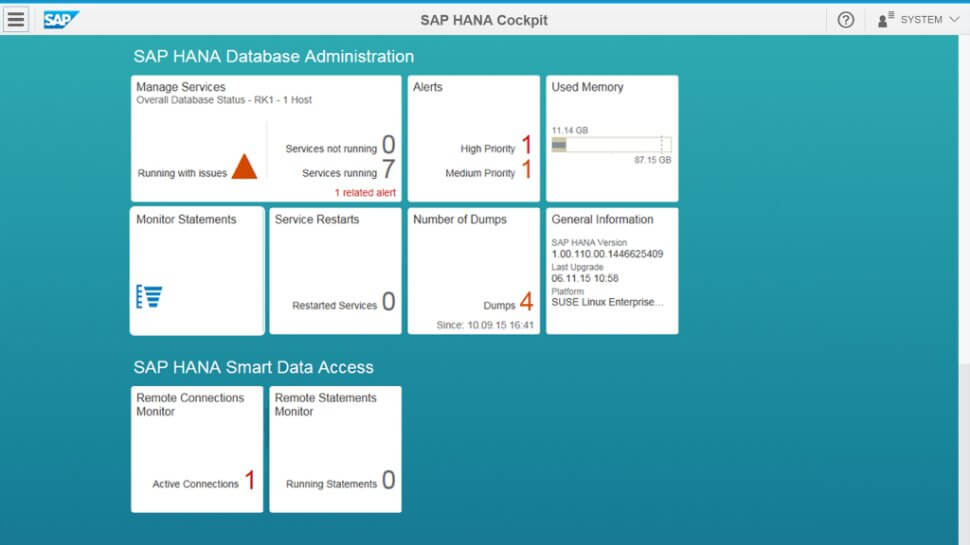 Magento 2 SAP HANA Data Access